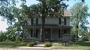 Senator John Humphrey House by Day