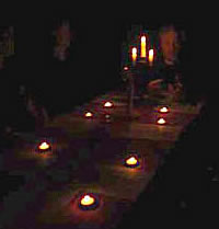 Seance at haunted location in Chicago area with Edward Shanahan
